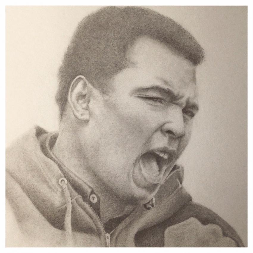 Muhammad Ali by MrE